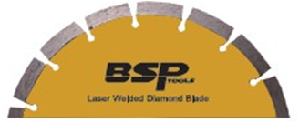 laser welded 12 inch diamond blade
