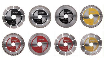 Angle Grinder Diamond Blades types