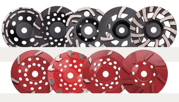 concrete grinding wheel types