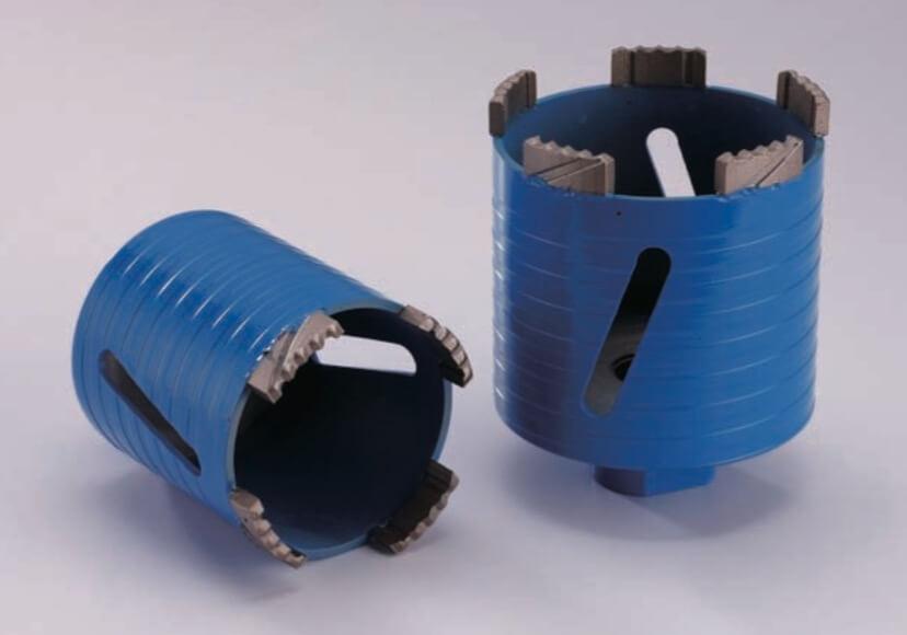 European standard dry core drill bits