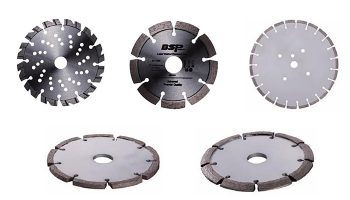 wall cutting blades