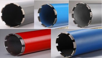 diamond core drill bit for wet use