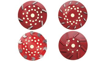 Coating removal diamond cup wheel