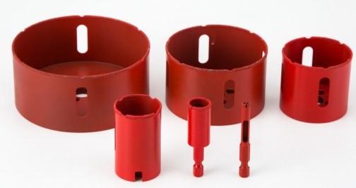 Vacuum Brazed Hign-speed drill bit